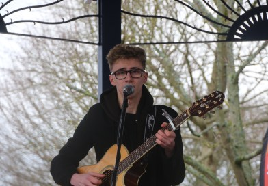 First on stage for Barnet Teenage Market 2