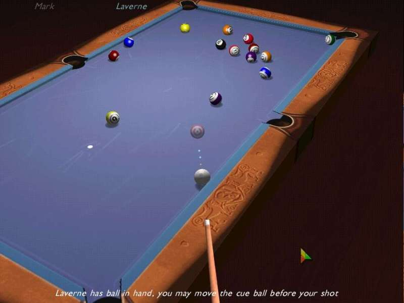 Games 3D Ultra Cool Pool Demo