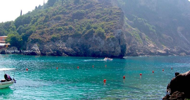 Corfu mar Grecia