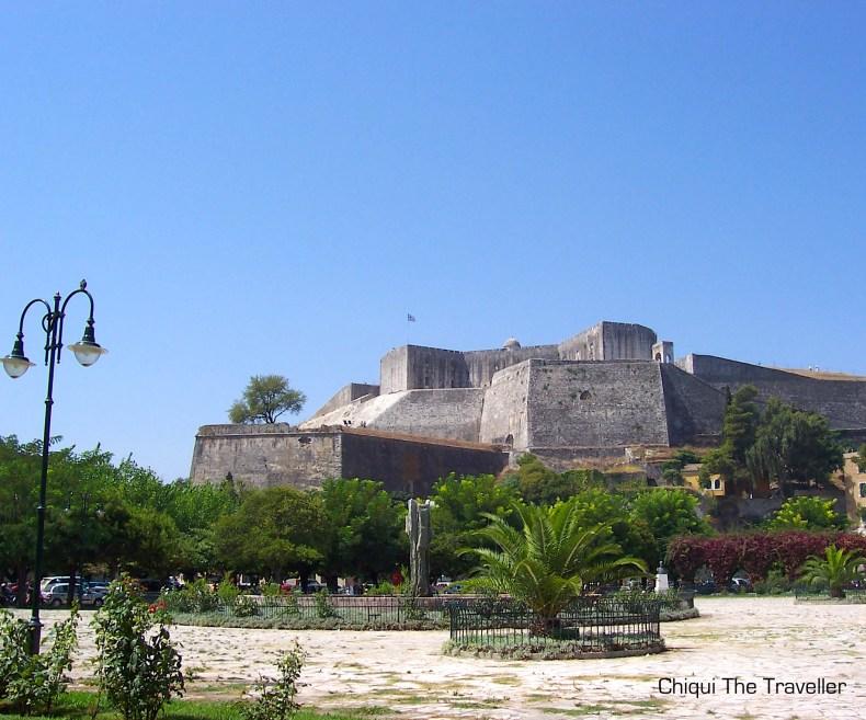 Fuerte de Corfu Grecia