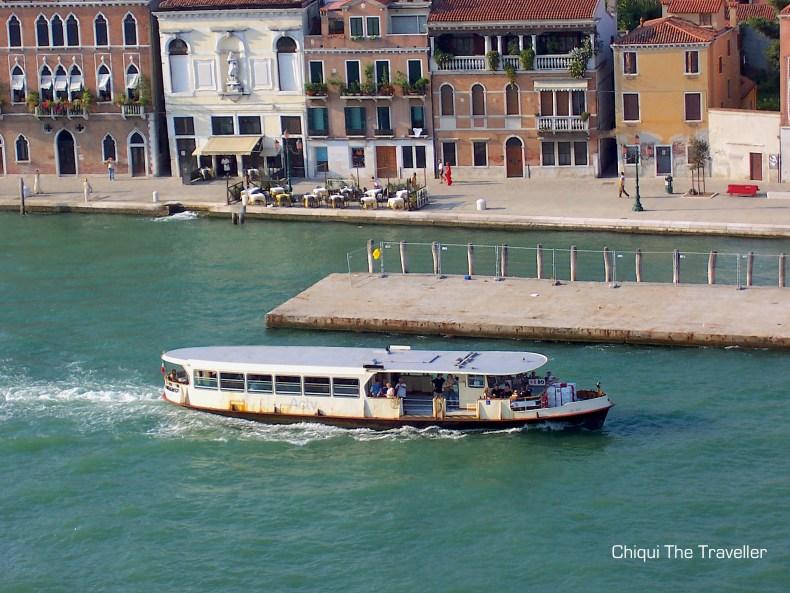Vaporetto Canales Venecia