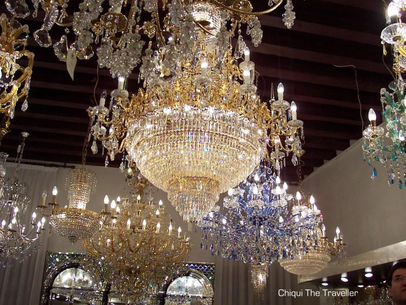 Lamparas cristal Murano Venecia