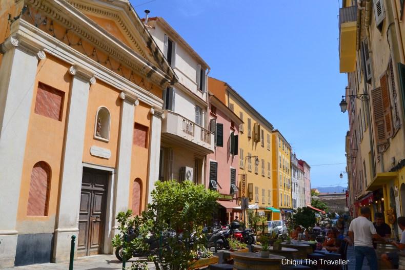 Ajaccio Corgeca calle