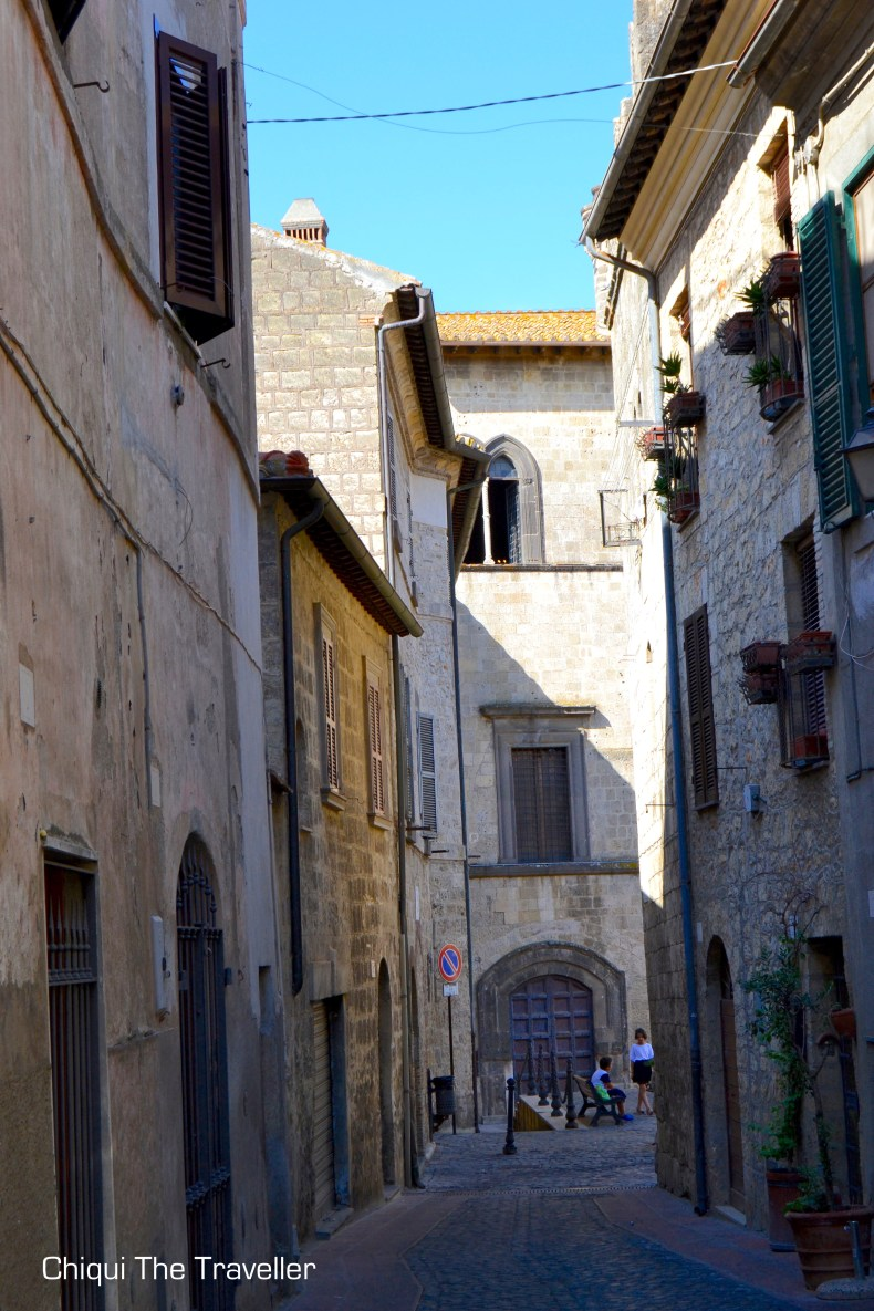 Calles de Tarquinia