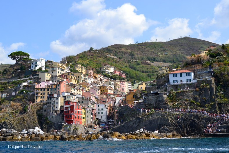 Riomaggiore puerto Cinqueterre