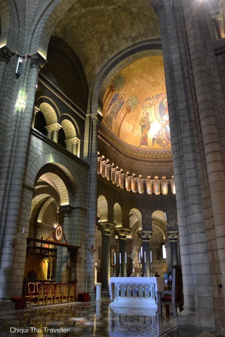 Catedral San Nicolas Monaco por dentro