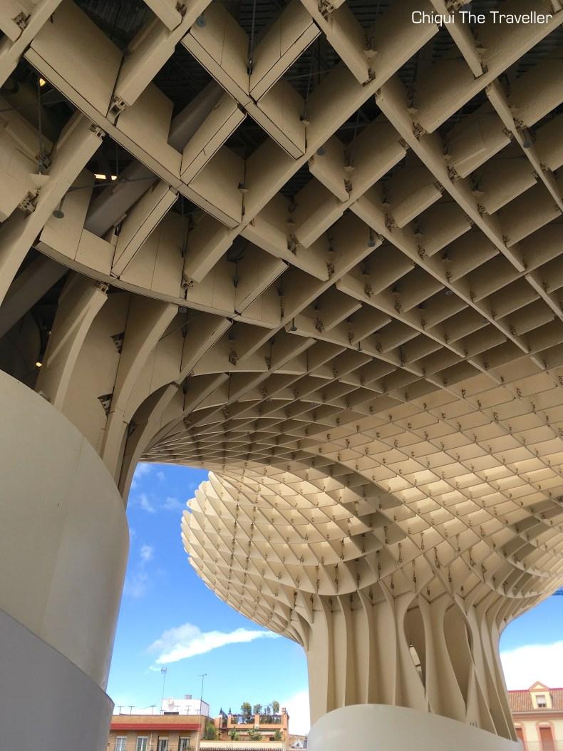 Parasol setas Sevilla