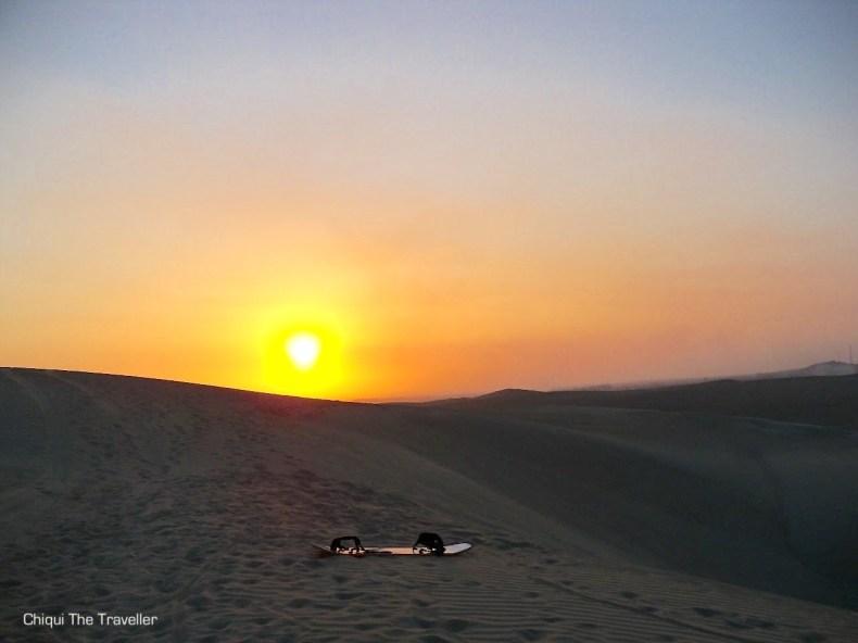 Atardecer Desierto Paracas
