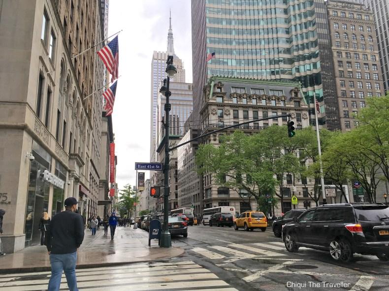 Calle Nueva York East 41st street