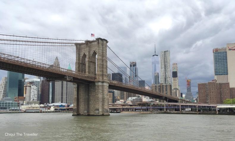 Puente de Brooklyn NYC One World Trade Center