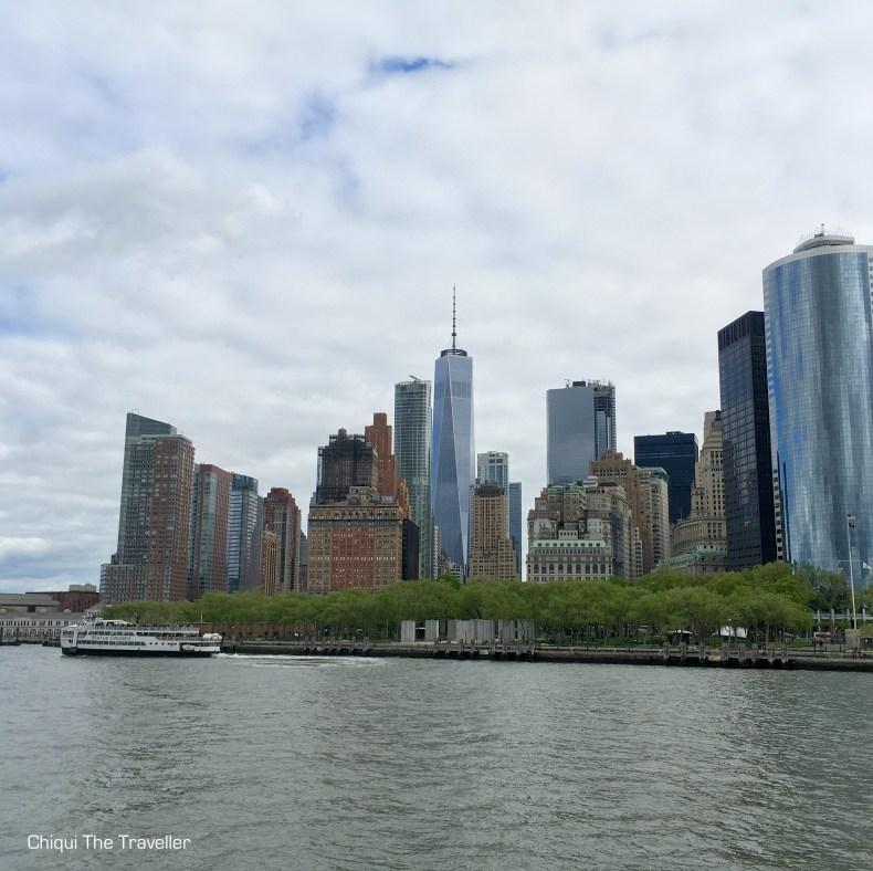 Skyline Nueva York One world trade center