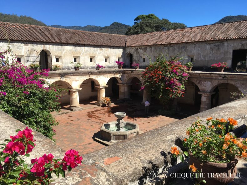 Claustro convento de las capuchinas
