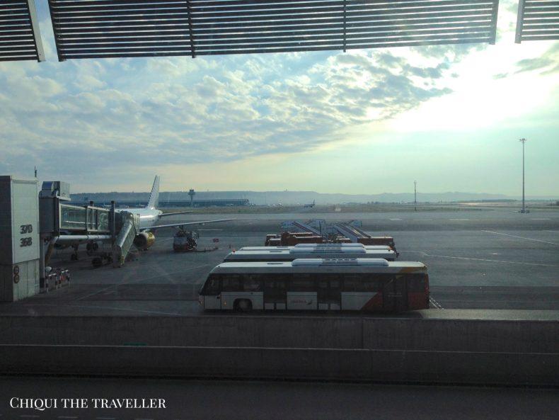 Aeropuerto de Madrid - Anécdotas de viaje
