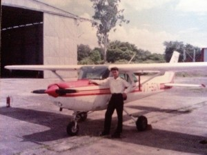 Mohit's early flying days