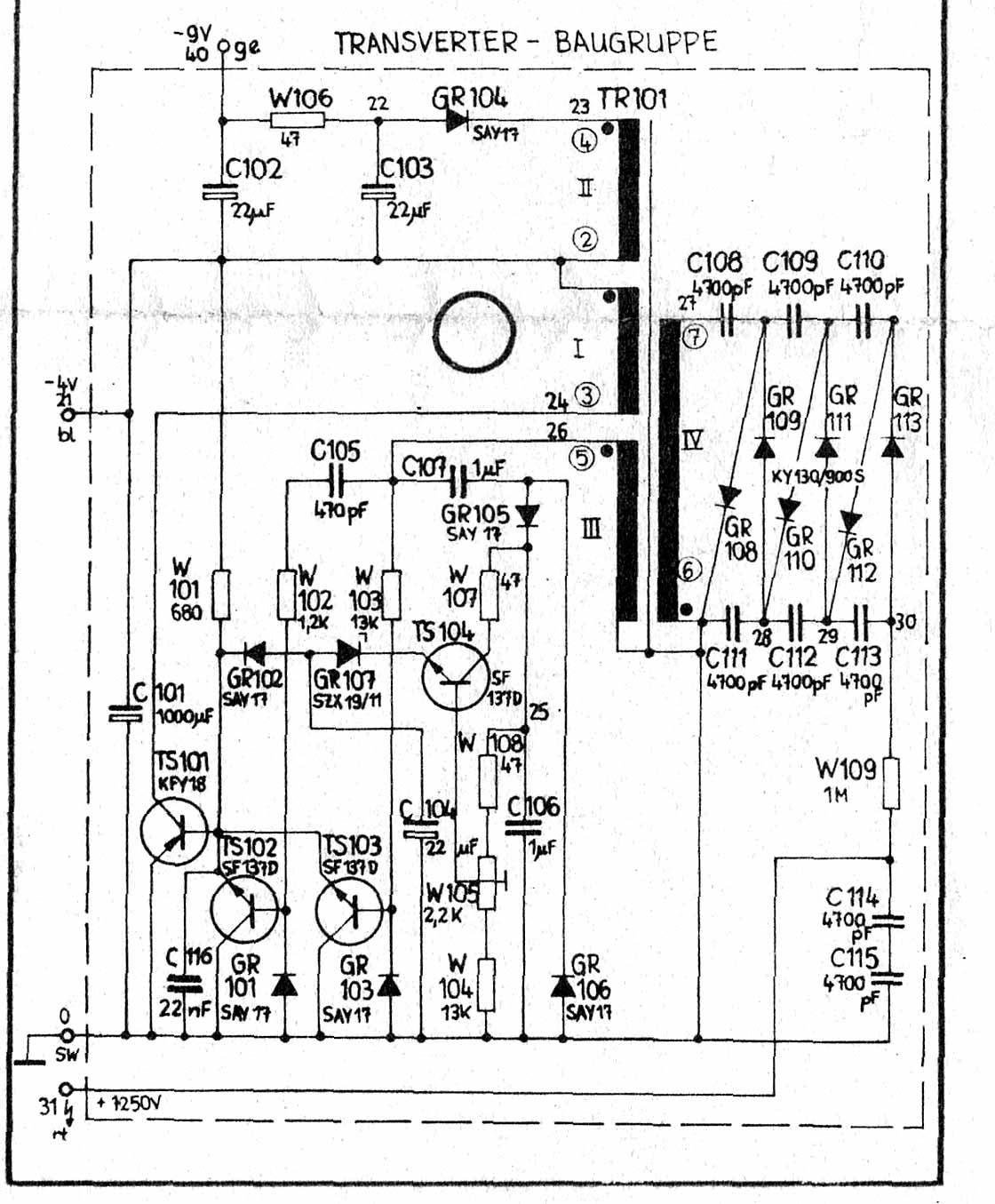 Ccfl Inverter Schematic