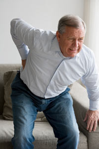 back pain in the elderly