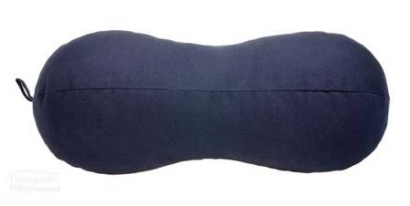 Peanut Pillow Navy Blue