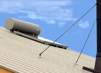 吉良町 新築 太陽熱温水器
