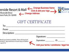 Take Your Business to the Next Level With Attractive Free Gift Certificate Templates