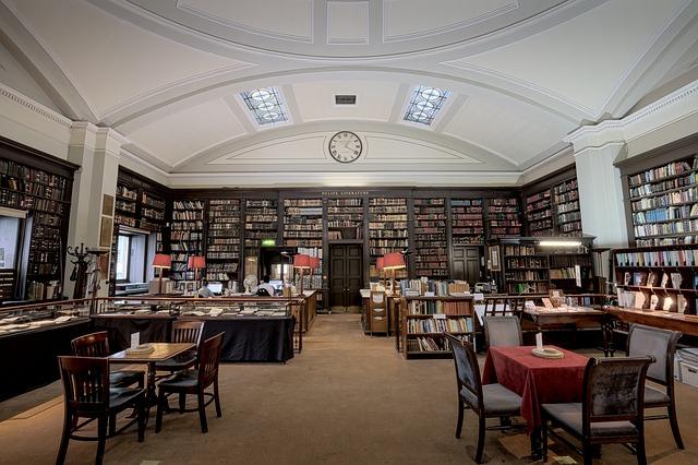 かっこいい図書館