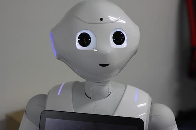 ソフトバンクのロボットのペッパー君