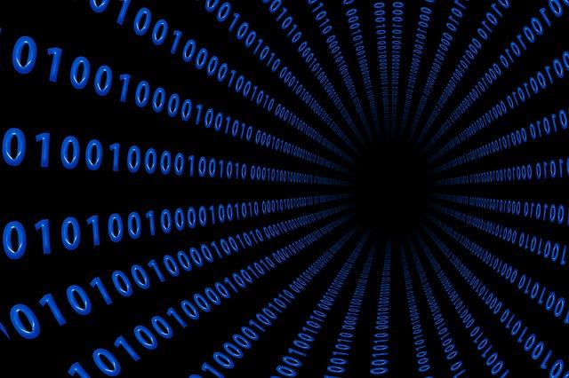 大量のバイナリコード