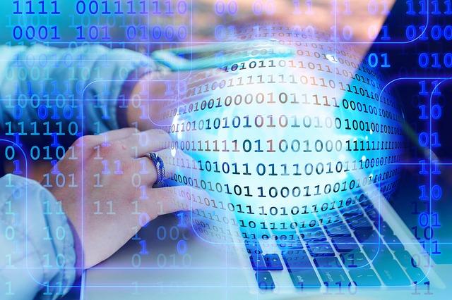 コンピュータのバイナリコード