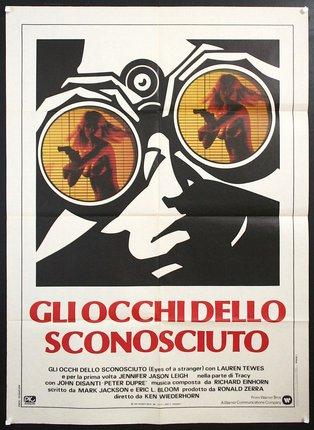 Risultati immagini per Poster Gli occhi dello sconosciuto