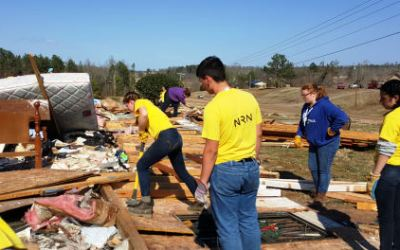 Bringing Hope to Holly Springs: Day 2– Snow and Mud