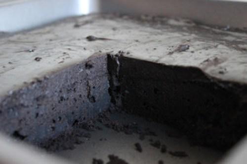 Tarta de chocolate fria