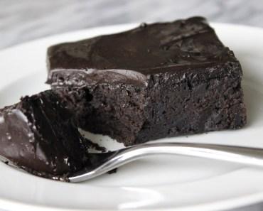 Tarta de chocolate frio