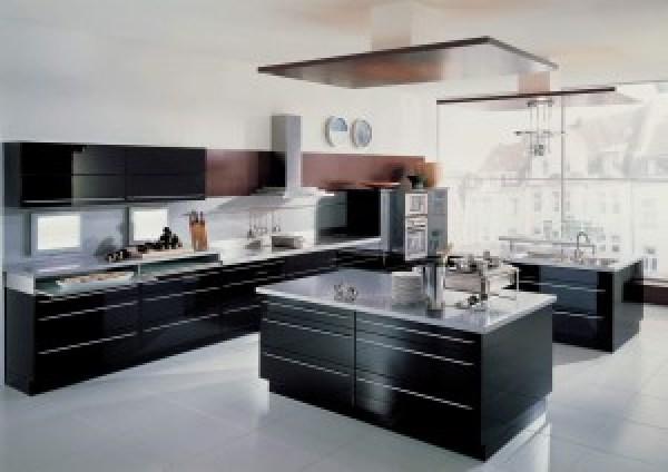 cocina con isla moderna