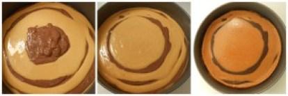Cheesecake de dulce de leche y chocolate