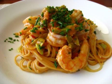 Receta-de-espaguetis-con-gambas1