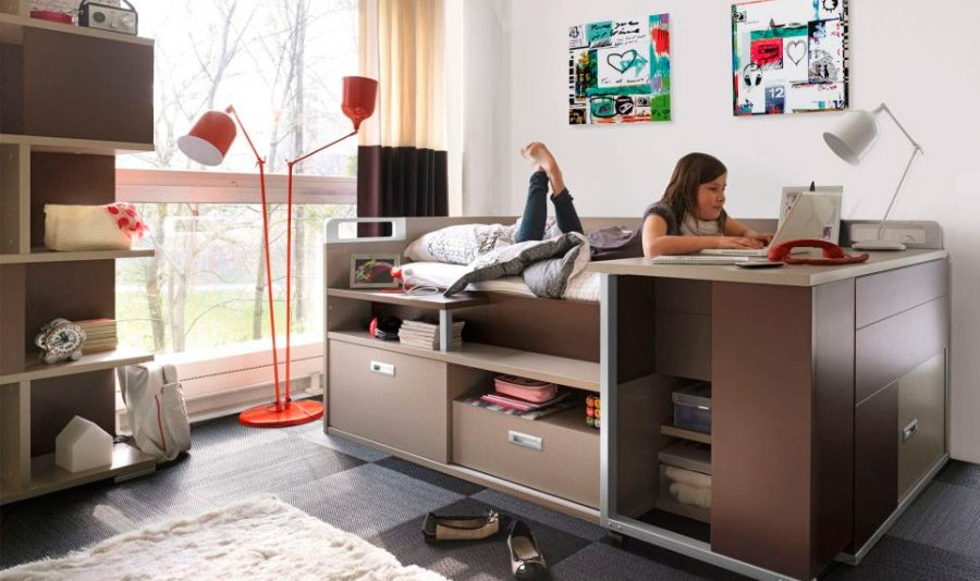 Dormitorios juveniles for Habitaciones modulares juveniles