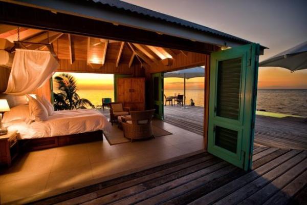 dormitorio al mar
