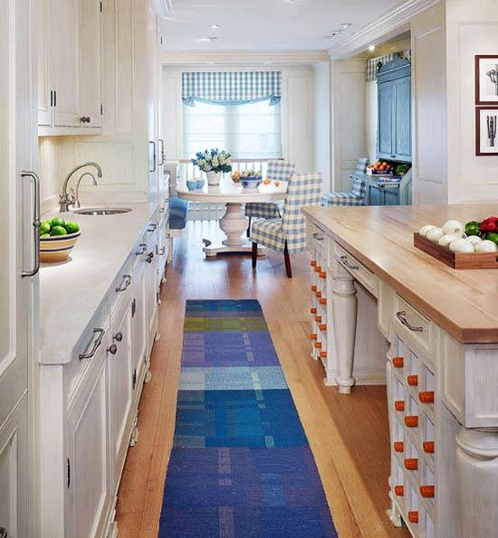 esquemas de colores de cocina atemporales Cocinas Pequeas Para Espacios Pequeos
