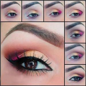 maquillaje-ojos-fuxia