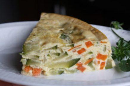 tarta de zanahoria y calabacin