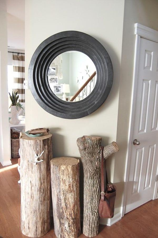 Arredare-casa-con-ceppi-di-legno-Appendiabiti