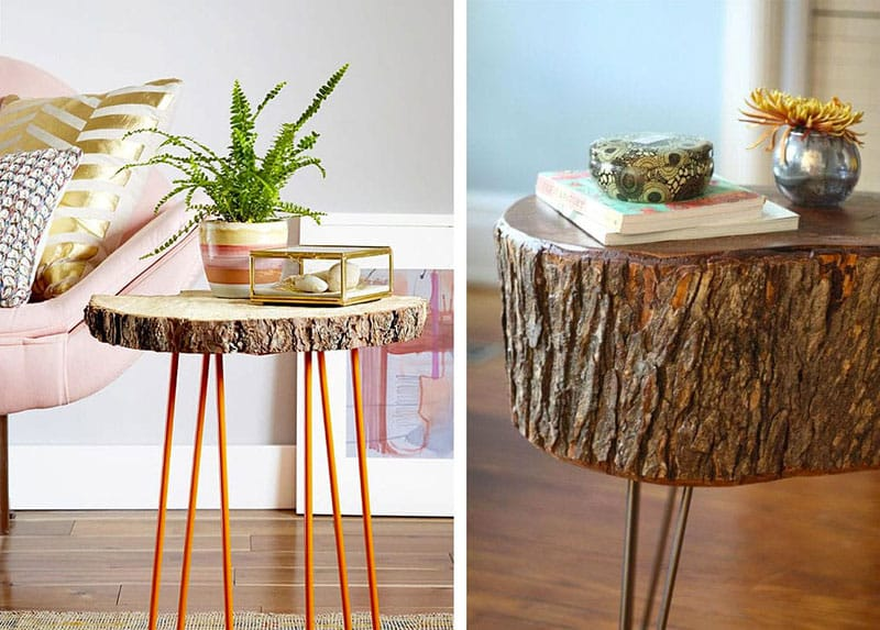 Arredare-casa-con-ceppi-di-legno-Tavolino-con-gambe-sottili
