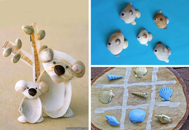 Decorazioni-fai-da-te-con-conchiglie-Giochi-per-bambini