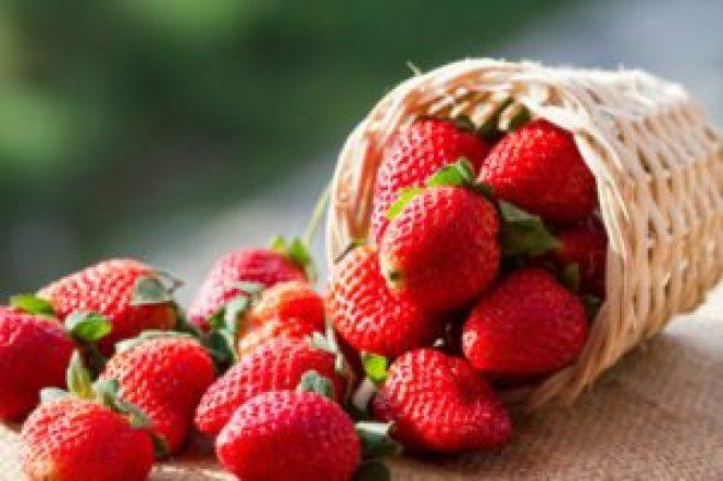 choque de fresas