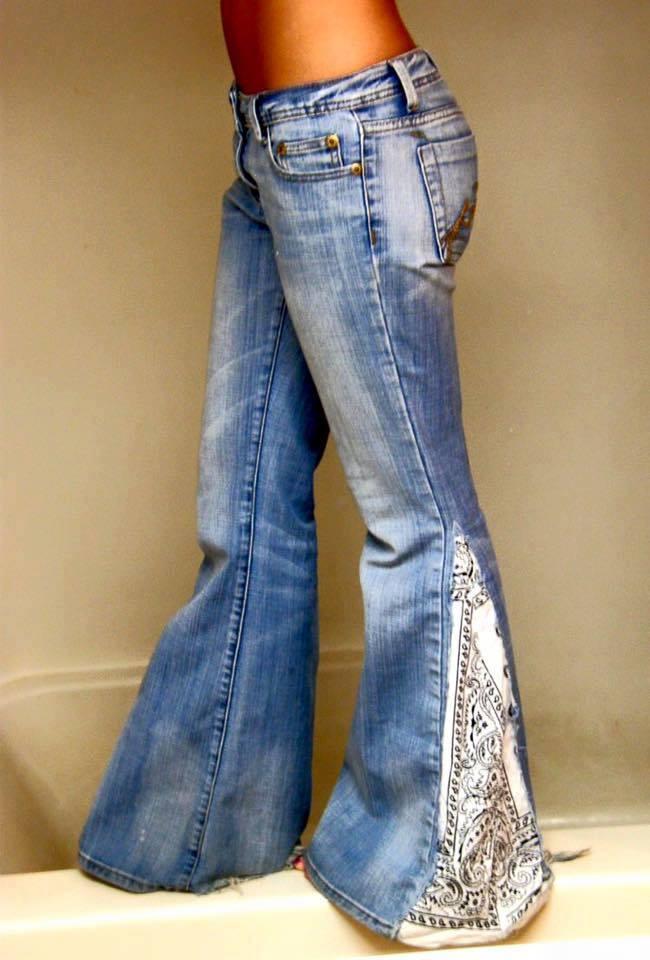 Creaciones para transformar nuestros vaqueros - Decorar pantalones vaqueros ...