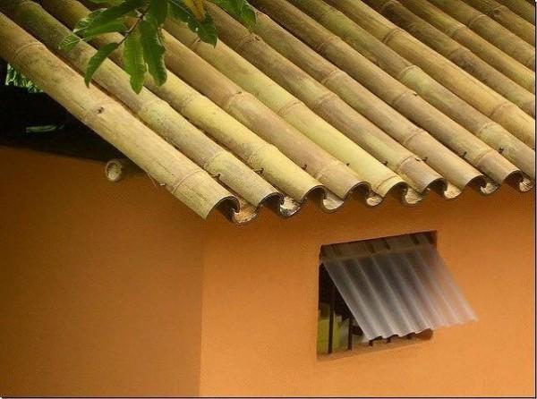 Techos de bambú