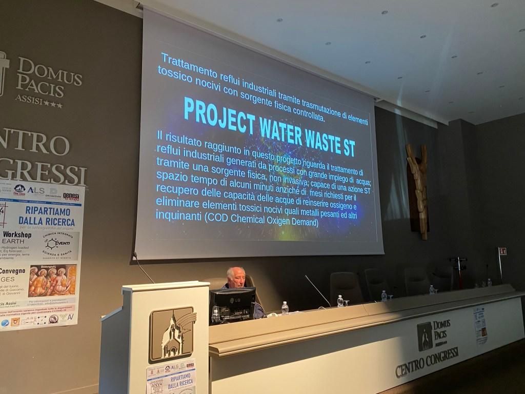 Project Water Waste Chiss Reportage Workshop LENR & EARTH