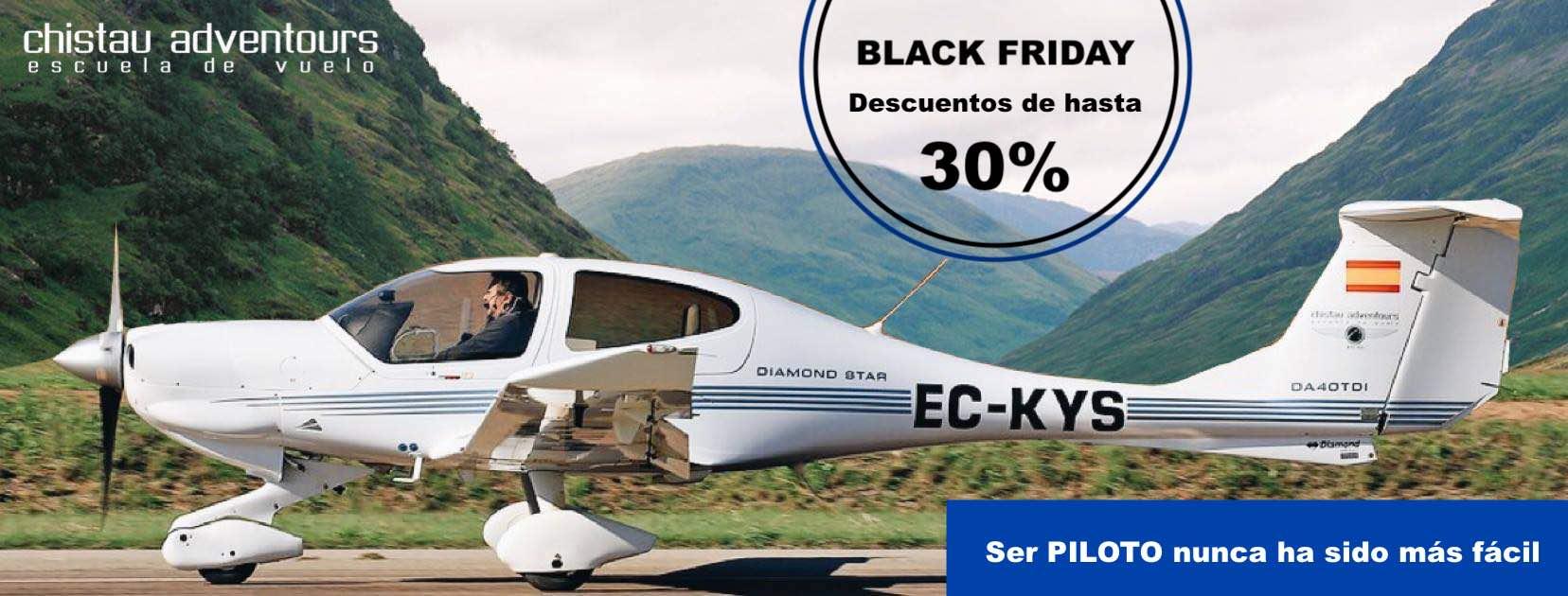 Descuento en tu Curso de Piloto Privado y Dron | BLACK FRIDAY