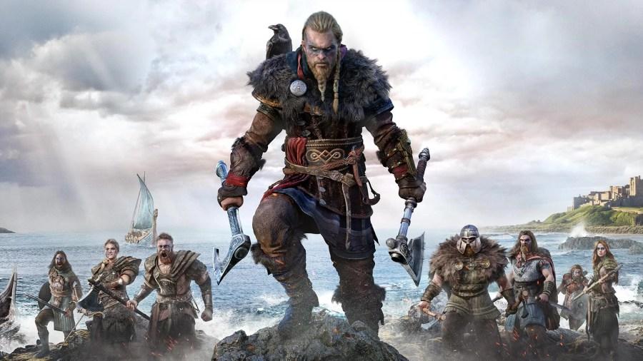 Assassin's Creed Valhalla keyart