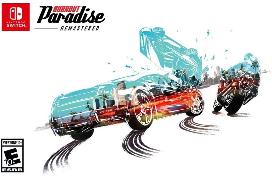 Burnout Paradise Remastered keyart