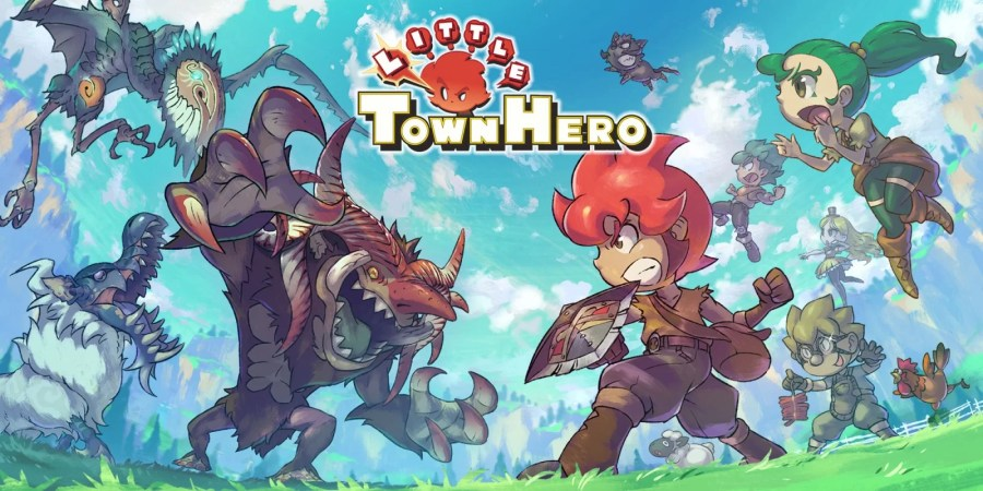 Little Town Hero keyart